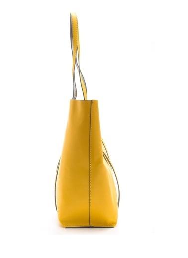 Derimod Omuz Çantası Sarı